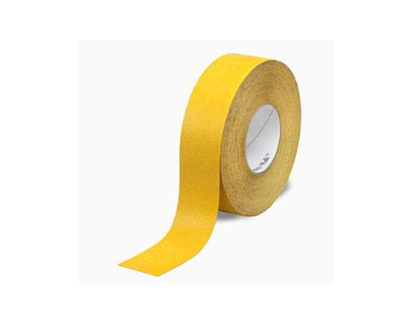 Csúszásmentes Padlójelölő-ragasztószalag Sárga 25mmx18m