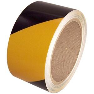 Fényvisszaverő ragasztószalag 50mmx11m Sárga-Fekete