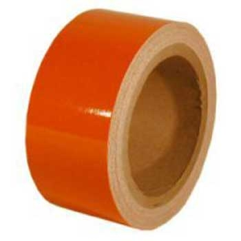 Fényvisszaverő ragasztószalag 50mmx11m Narancs
