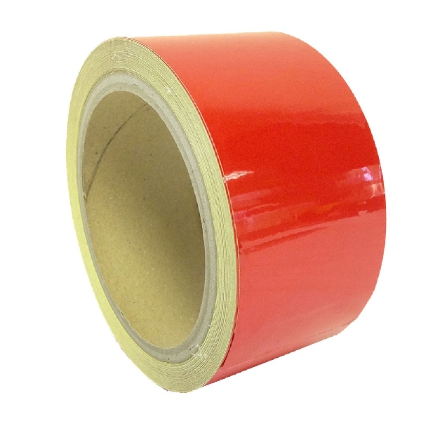 Fényvisszaverő ragasztószalag 50mmx11m Piros