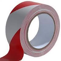 Kordonszalag 75mmx500m piros-fehér